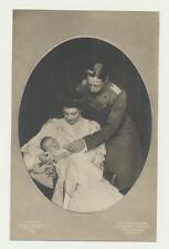 AK / Das Kronprinzpaar mit Kind