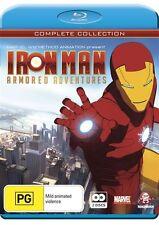 Iron Man Armored Adventures : Season 1 (Blu-ray, 2010, 2-Disc Set)-Free postage
