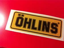 1 Adesivo OHLINS ammortizzatori pistoncino Yellow & Black