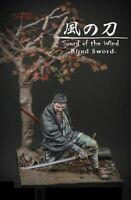 1/24 75mm Resin Figure Model Kit Samurai Blind Sword Of The Wind Unpainted