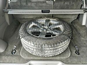 Rear Trunk Floor Style Mesh Web Cargo Net for CHEVROLET TRAILBLAZER 2002-2009