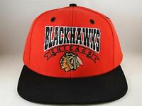 Chicago Blackhawks NHL Reebok Snapback Hat Cap Red Black