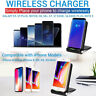 Qi Wireless Charger for iPhone X Xs Max XR 8 Plus Samsung S8 S9 Charging Stand