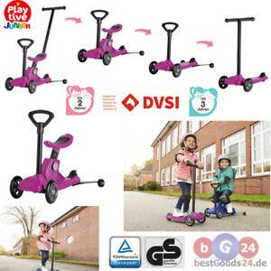 Kleinkinder 4-in-1-Scooter Trittroller Roller Kinderroller Balance Bike ab 3 Jah