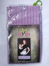 NEW Seven Everyday Slings Baby Carrier Koi Purple Sz 3 Small For T-Shirt Sz Med