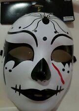 Halloween Day of The Dead Sugar Skull Mask Costume Dia de Los Muertos Accessory