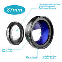 Neewer 37MM 0.45X Wide Angle Lens with Macro Conversion Lens