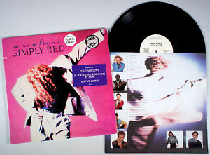 Simply Red - A New Flame (1989) Vinyl LP • Audiophile White-Label PROMO •