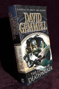 David Gemmell THE LEGEND OF DEATHWALKER a novel of Druss The Legend