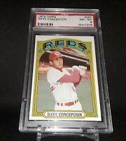 1972 Topps Baseball #267 Dave Concepcion PSA 8 NM-MT