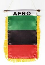 AFRO flag automobile rearview mirror or window flag car Home AFRICA pride