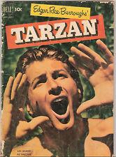 Lot 12 Edgar Rice Burroughs Tarzan (Dell 1952-1953)