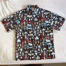 Disney Parks Jerrod Maruyama The Kingdom of Cute Camp Shirt Adult Medium M NWT