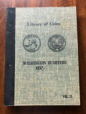 VINTAGE LIBRARY of COINS WASHINGTON QUARTERS ALBUM, vol. 15  1932-63  - NO COINS
