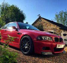 BMW 3 e46 CSL style front splitter lip for m3 bumper 2pcs.