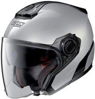 Casco moto Jet Nolan N40.5 grigio