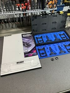 HUDY 109305 Univ Exclusive Setup System 1/10 Touring w Droop Ride Height Gauge