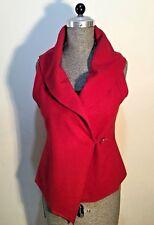 Size AU 14 - AU 16 Women's Wool & Polyester Large Cape Sleeveless Jumper