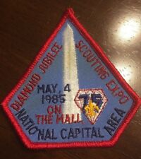 Vintage Boy Scout 85 National Capitol Area Diamond Jubilee Scouting Expo Patch