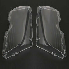 Pair Headlight Cover Clear Lens For BMW E46 Coupe 2-Door Pre-LCI 1999-2003 CAO