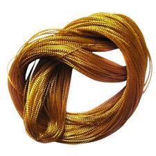 Gold String Metallic Thread Jewelry Cord Card Braid 100 Yard