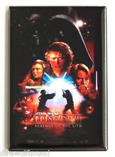 Star Wars: Revenge of the Sith FRIDGE MAGNET (2 x 3 inches) movie poster