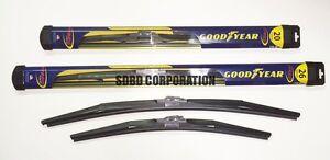 2011-2014 Volvo S60 Goodyear Hybrid Style Wiper Blade Set of 2
