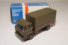 ± LION CAR DAF F2000 2200 2300 TRUCK DUTCH ARMY GREEN 059 NEAR MINT BOXED