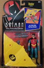 Robin Action Figure Turbo Glider Drop Missiles BATMAN THE ANIMATED SERIES Kenner