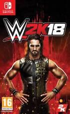 JUEGO  TAKE TWO  SWITCH  WWE 2K18  NUEVO (SIN ABRIR)