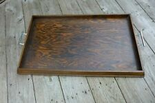 Vintage XL wooden tray home cottage farm loft house barn coffee shop collector