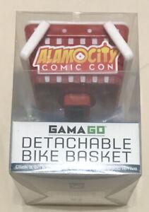 Mini Detachable Bike Basket: Click It On For A Ride Click It Off When You Arrive