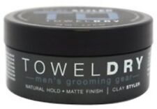 Towel Dry Clay Styler for Men 2.5 oz (Pack of 2)