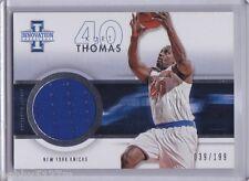 2012-13 Innovation Jerseys Kurt Thomas Card #38 039/199
