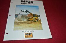 Massey Ferguson 25 TeleHander Lelescopic Loader Dealer's Brochure DCPA2 ver2