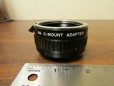 NA C-Mount to Nikon Camera Lens Adaptor Made In Japan