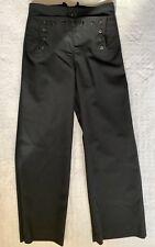 U.S. USN NAVY MEN'S WOOL DRESS BLUE UNIFORM TROUSERS /PANTS: SIZE 31 R