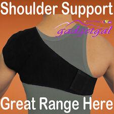 Neoprene Magnetic Shoulder Support Strap Compression Bandage - Fully Adjustable