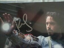 Robert Downey jr & Iron Man's Arm 1st Time Autographed 8 X 10 Photo