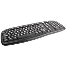 Spill Proof Extra Large Jumbo Letters Computer Plug-in USB Keyboard