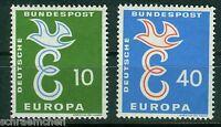 Bund 295 - 296 , ** , Europa 1958