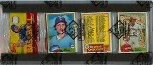 1981 Topps Baseball Rack Pack Nolan Ryan Back Center BBCE Auth HOF GOAT Pitcher