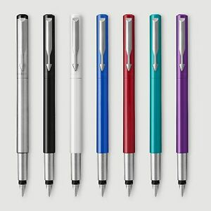 Parker Vector  Pluma estilografica  Plumin medio , caja y garantia . Elija color