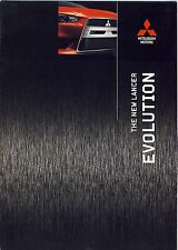 Mitsubishi Lancer Evolution 02 / 2008 catalogue brochure Swiss