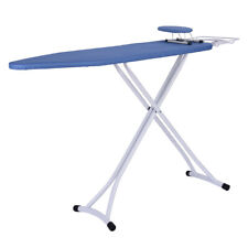 48x15'' Home Ironing Board 4 Leg Foldable Adjustable Board With Cover Us Stock