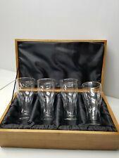 Ducks Unlimited Rare Pilsner Drinking Glasses Box Set of 4