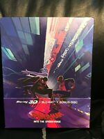 Spider-Man Into the Spider-Verse 3D/2D Blu-Ray Steelbook [Czech] Region Free New