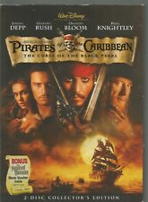 Pirates of the Caribbean The Curse of the Black Pearl (DVD, 2003, 2-Disc...