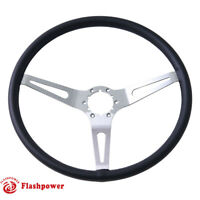 Flashpower GM Classic Leather Steering Wheel Original Restoration Muscle Car