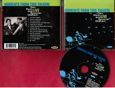 """Dan Penn & Spooner Oldham: ""Moments from This Theater"" LIVE Soul CD by 2 GREATS"